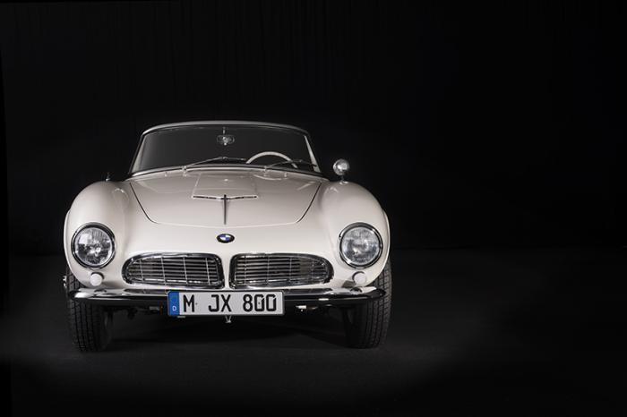 BMW 507: восстановленное авто Элвиса (20 фото)