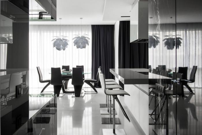 Квартира в Москве от студии Geometrix Design (31 фото)