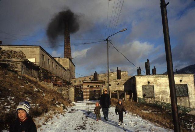 Россия начала 90-х на фото Жан-Поля Гийото (20 фото)