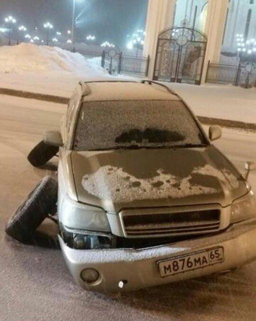 """""""Гениальные"""" идеи авторемонта (18 фото)"""