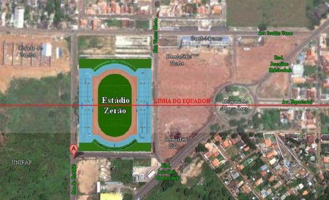 «Зерао» - самый уникальный стадион в мире (3 фото)