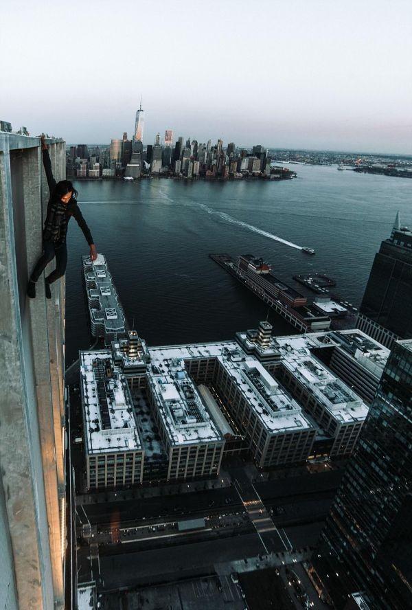Манхэттен с нового ракурса на экстремальных фото руферов (11 фото)