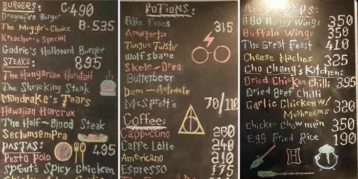 Кафе для фанатов Гарри Поттера (7 фото)