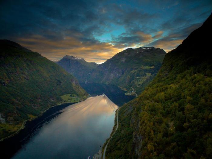16 самых красивых фотографий Норвегии (16 фото)