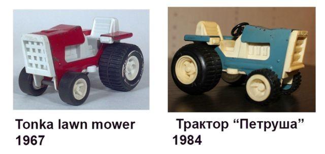 Советские игрушки, которые оказались копиями зарубежных (14 фото)