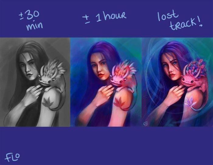 Практика и время помогают художнику (25 фото)