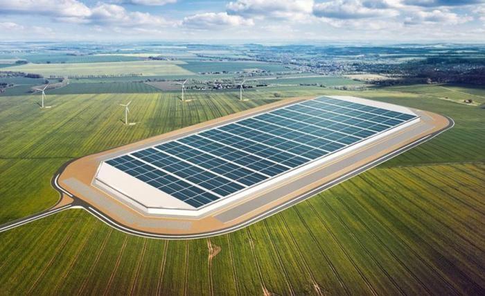 Первый завод Tesla в Европе (8 фото)