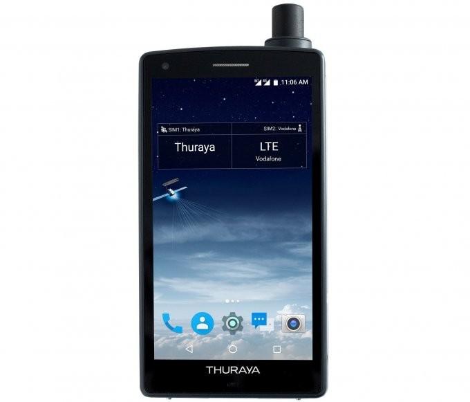 Thuraya X5-Touch — первый в мире спутниковый смартфон (4 фото)