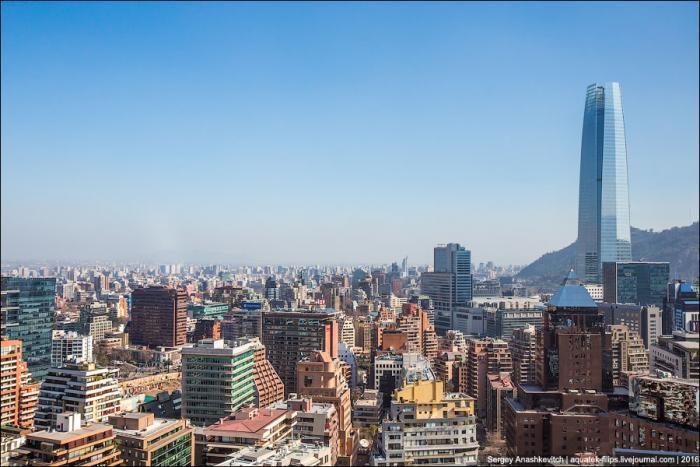 Sky Costanera – самое высокое здание в Латинской Америке (36 фото)
