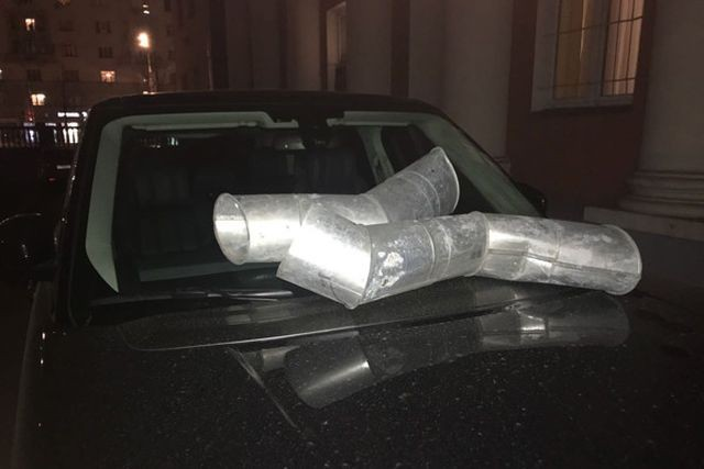 Тимуру Батрутдинову изуродовали внедорожник Range Rover (2 фото)
