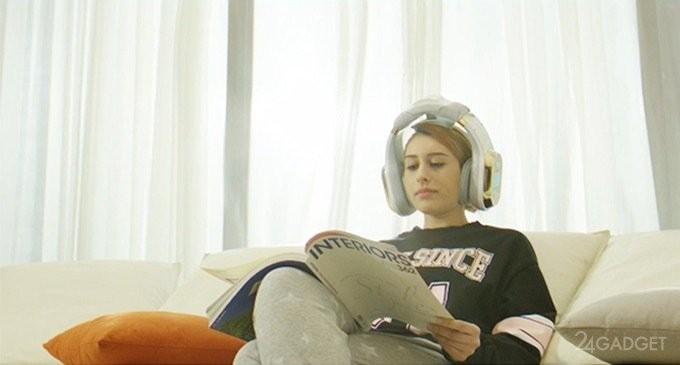 Fuman Nirvana — наушники со встроенным массажёром (7 фото + видео)