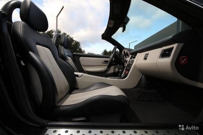 """Родстер Mercedes-Benz SLK стилизованный под 21-ю """"Волгу"""" (8 фото)"""