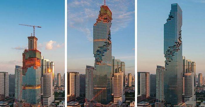 Самый высокий небоскрёб в Таиланде (7 фото)