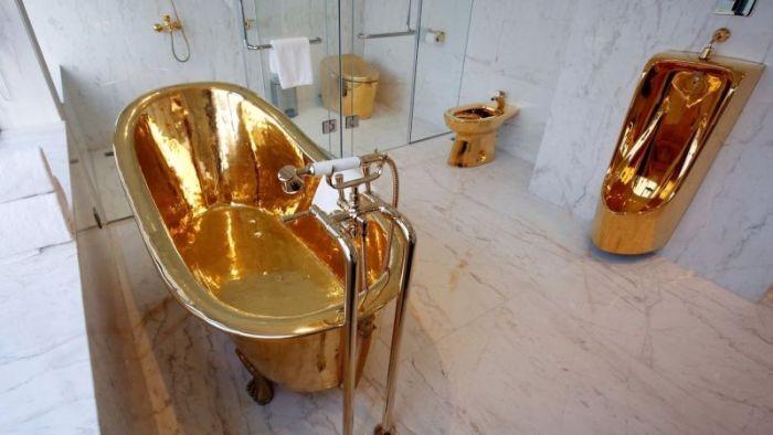 Роскошный президентский номер вьетнамского отеля (4 фото)