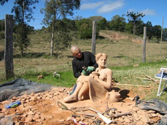 Каменная скульптура своими руками (16 фото)