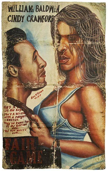 Африканские постеры к фильмам (40 фото)