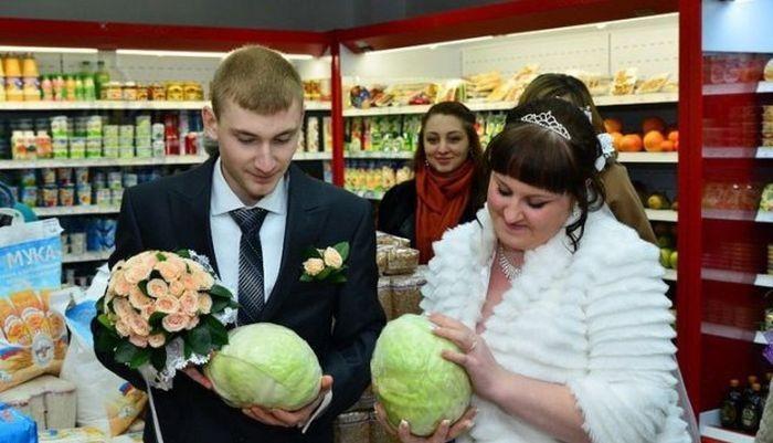 Смешные фото со свадеб (32 фото)