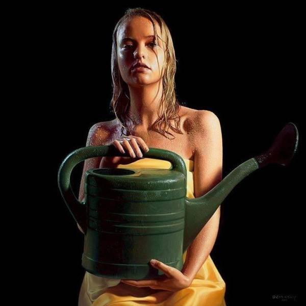 Работы художников-гиперреалистов (19 фото)
