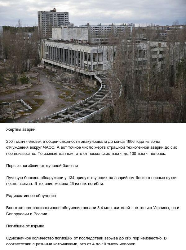 Факты об аварии на Чернобыльской АЭС (5 фото)