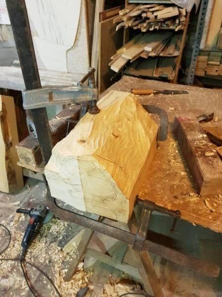 Невероятно реалистичная скульптура из дерева (10 фото)