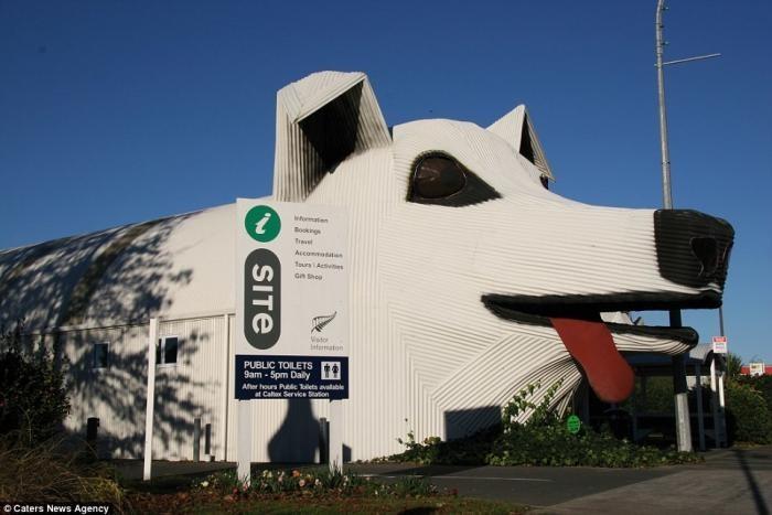 Дом-слон и другие здания в виде животных по всему миру (14 фото)