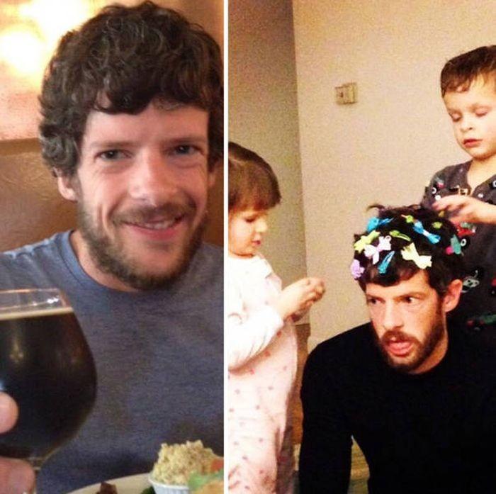 Жизнь до и после рождения детей (42 фото)