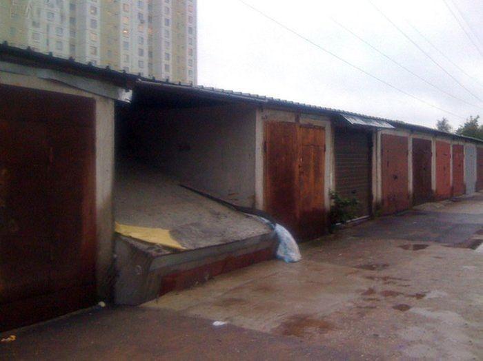 Вместо склада получился подземный гараж (3 фото)