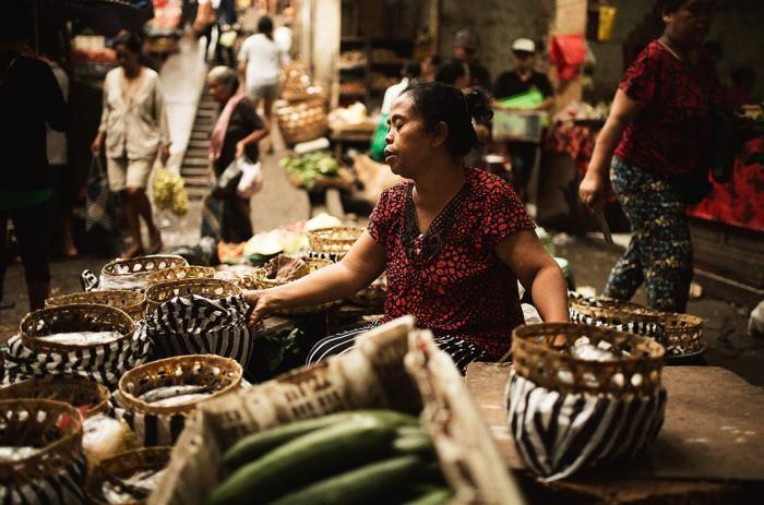 Фотопроект о буднях острова Бали (30 фото)