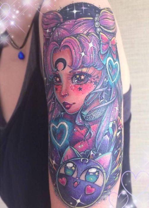 Детские татуировки для взрослых (25 фото)