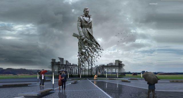 В Тверской области установят мемориал Советскому Солдату (3 фото)