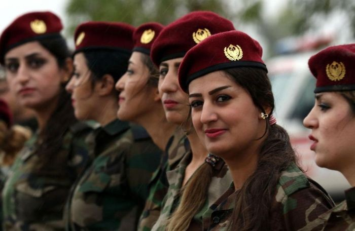 Курдские женщины-бойцы (39 фото)