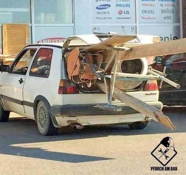 Перевозка крупногабаритных грузов своими силами (27 фото)