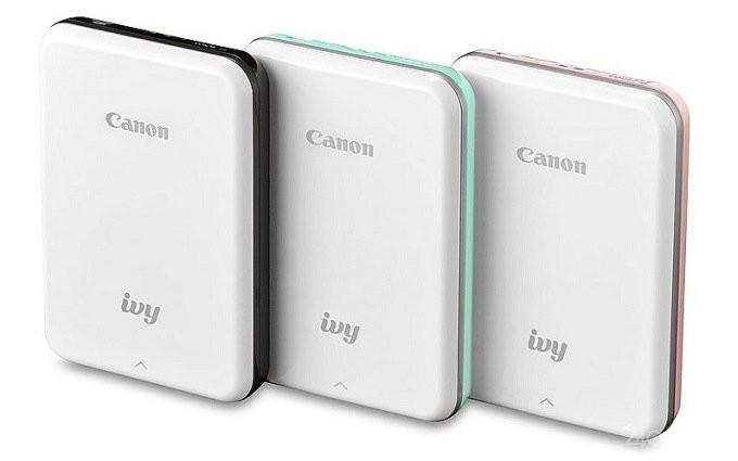 Карманный фотопринтер Canon IVY (5 фото)