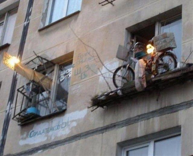 Странный сосед (5 фото)