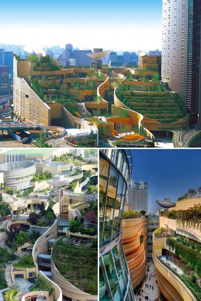 039e4a Сногсшибательные примеры современной архитектуры Японии (15 фото)
