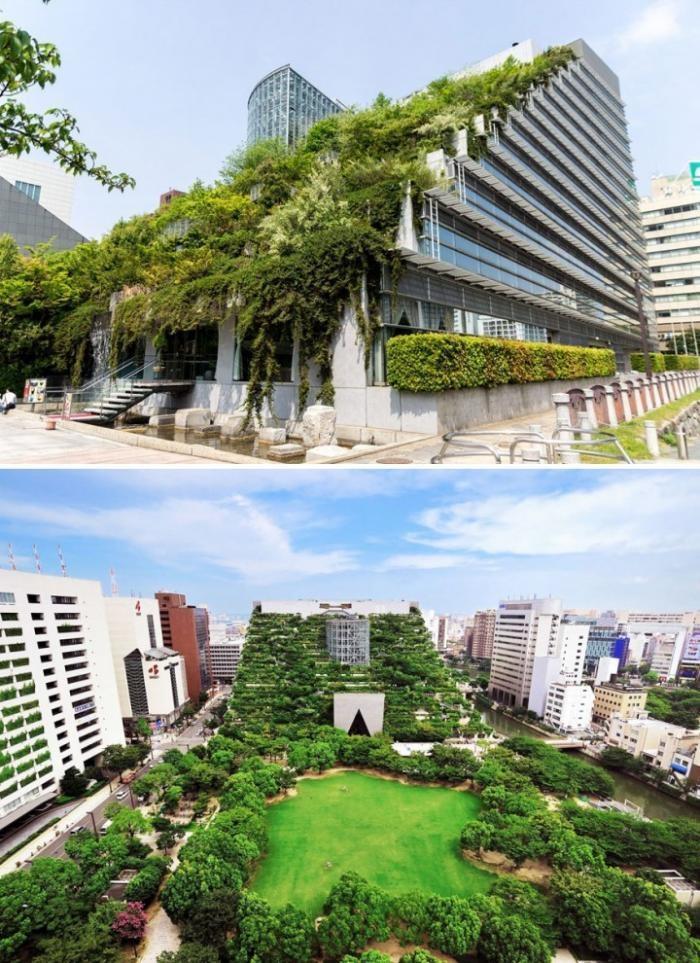 1f1d2e Сногсшибательные примеры современной архитектуры Японии (15 фото)