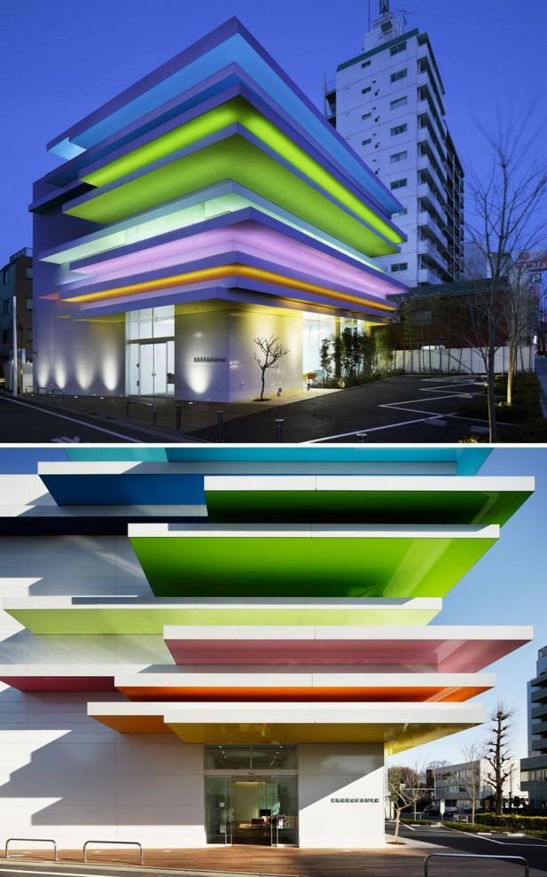 3868f2 Сногсшибательные примеры современной архитектуры Японии (15 фото)