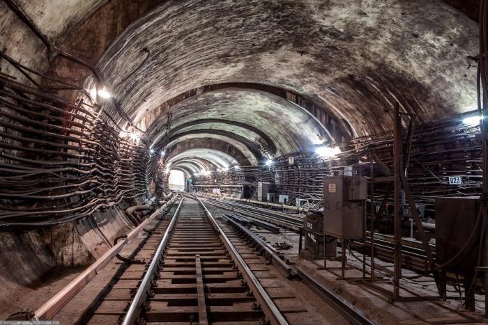 417a0f Подземные тоннели метро в Москве (23 фото)