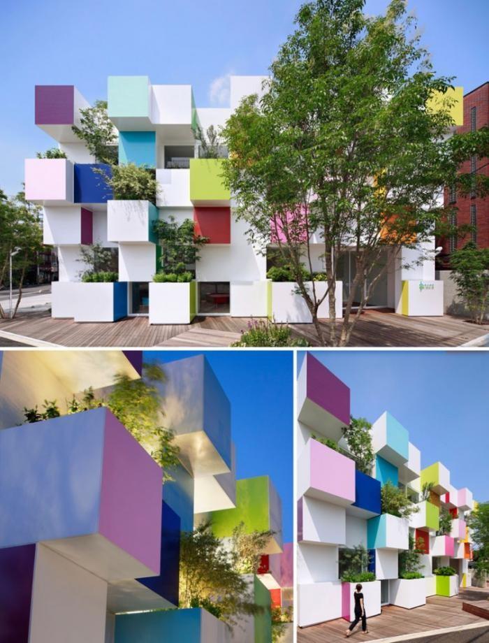 45adc1 Сногсшибательные примеры современной архитектуры Японии (15 фото)