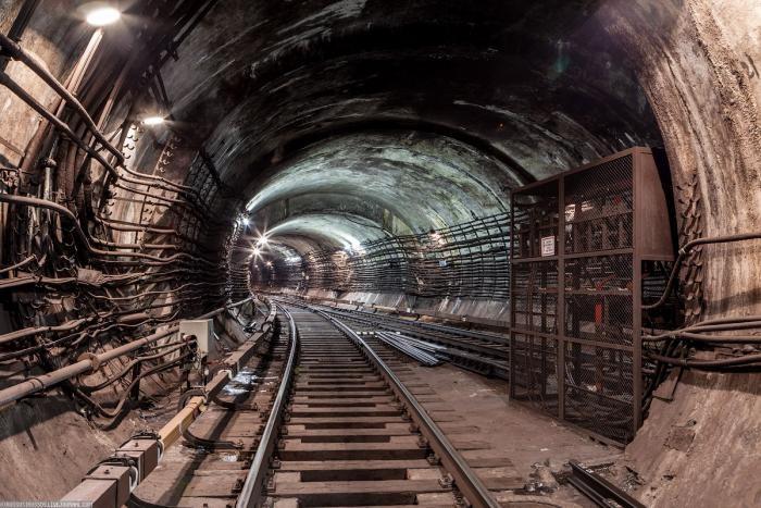 5107eb Подземные тоннели метро в Москве (23 фото)