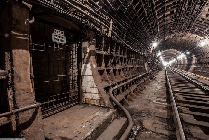 d6a5d3 Подземные тоннели метро в Москве (23 фото)