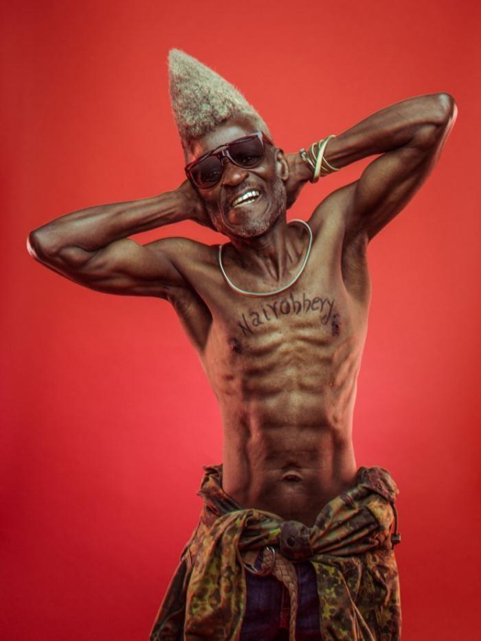 Зажигательные дедушки-хипхоперы из Найроби (5 фото)