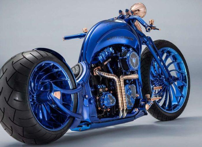 Как выглядит самый дорогой мотоцикл в мире (5 фото)