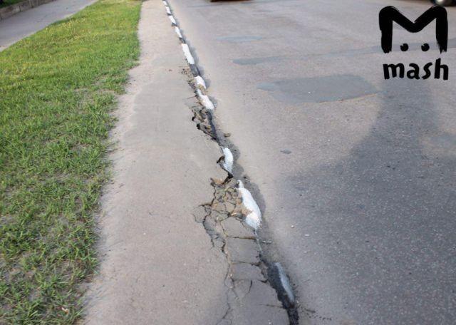 Ударная работа тамбовских дорожников (3 фото)