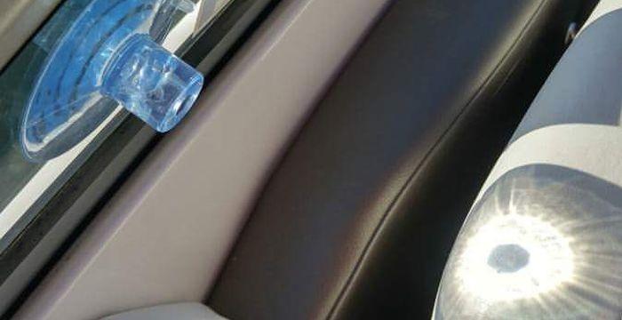Крепеж на стекло и солнце (3 фото)