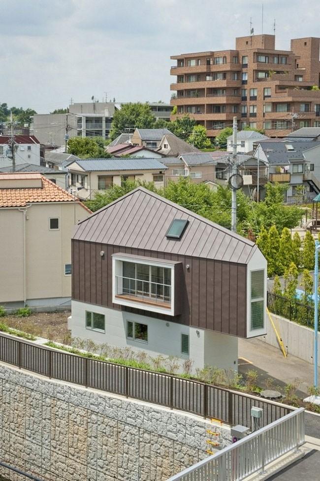 Миниатюрный дом в Японии (16 фото)