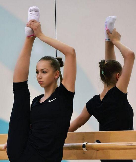 Мария Сергеева - новинка художественной гимнастики (17 фото)