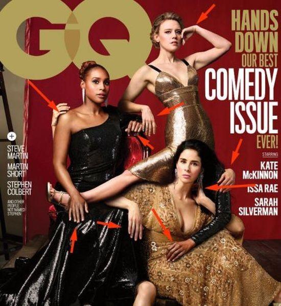 Обложка журнала GQ озадачила пользователей сети (4 фото)