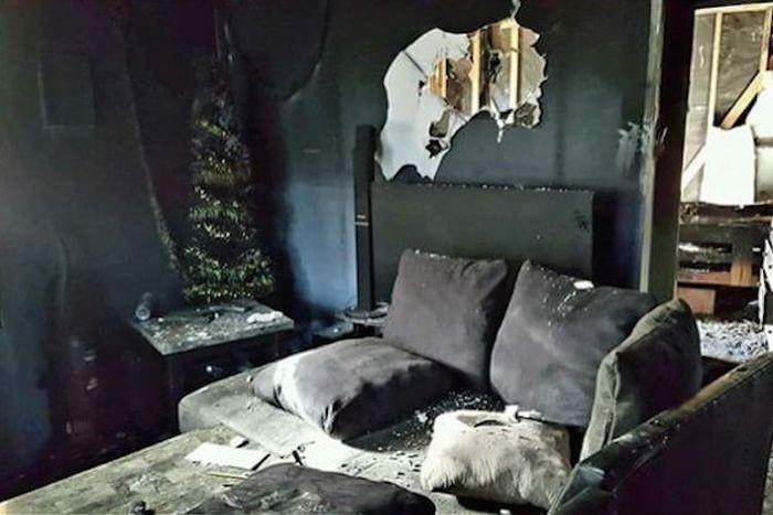 Ховерборд уничтожил дом американской семьи (5 фото)