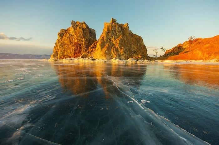 Зимние красоты Байкала (35 фото)
